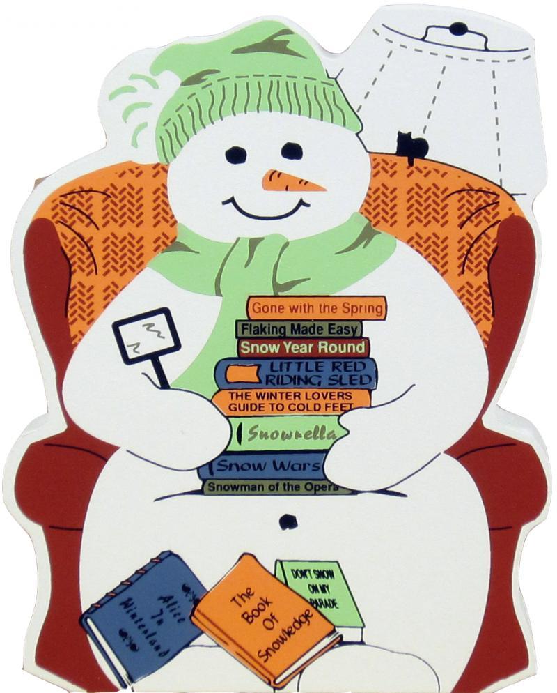 Winter Book Clipart.