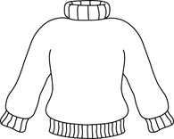 Free Black and White Weather Outline Clipart.