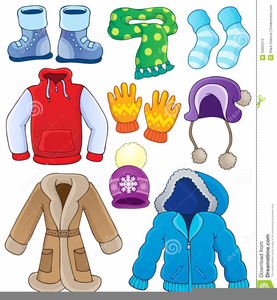 Clipart Winter Clothes.
