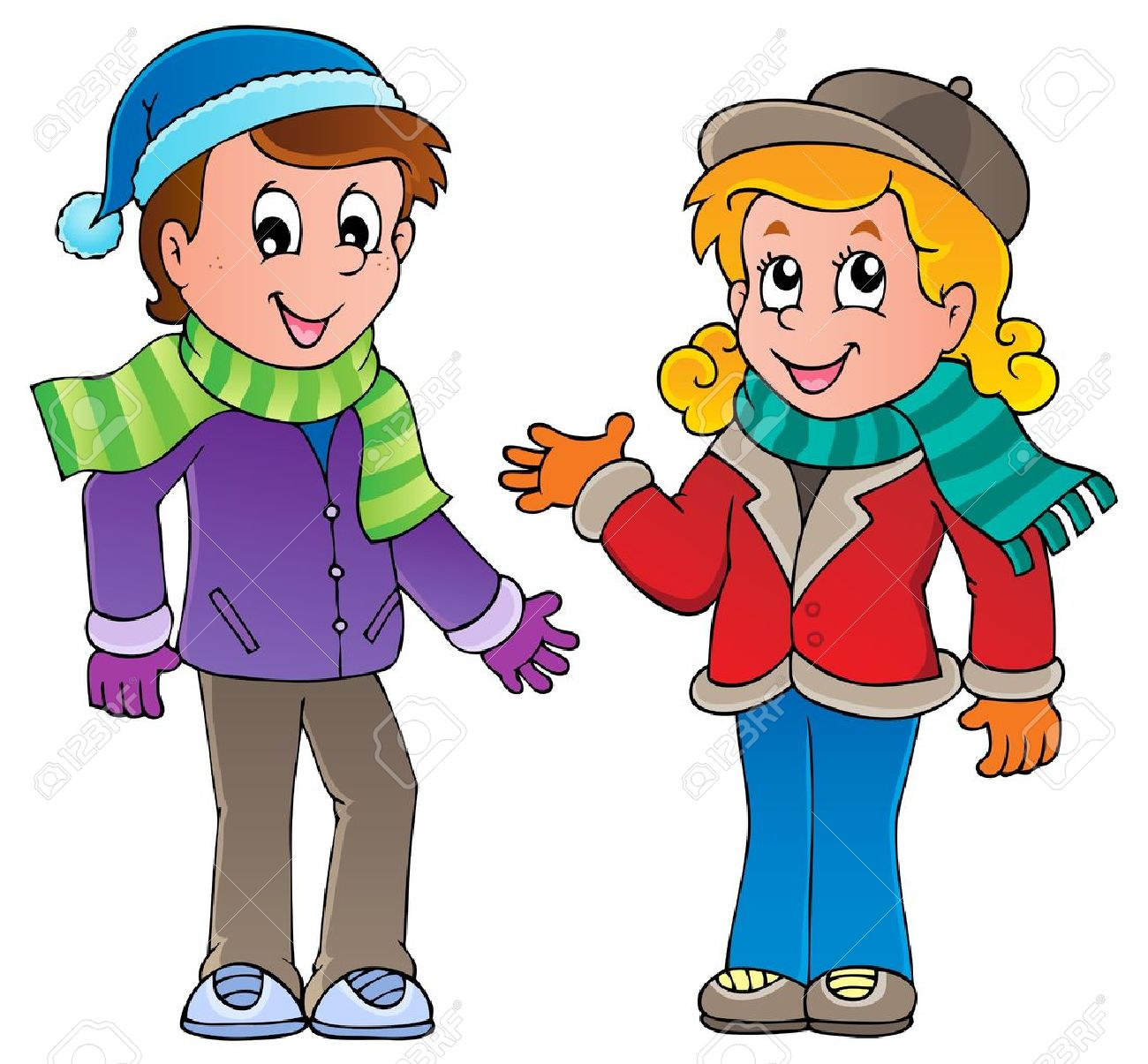 Cartoon Kids Theme Image 1 Royalty Free Cliparts, Vectors, And.