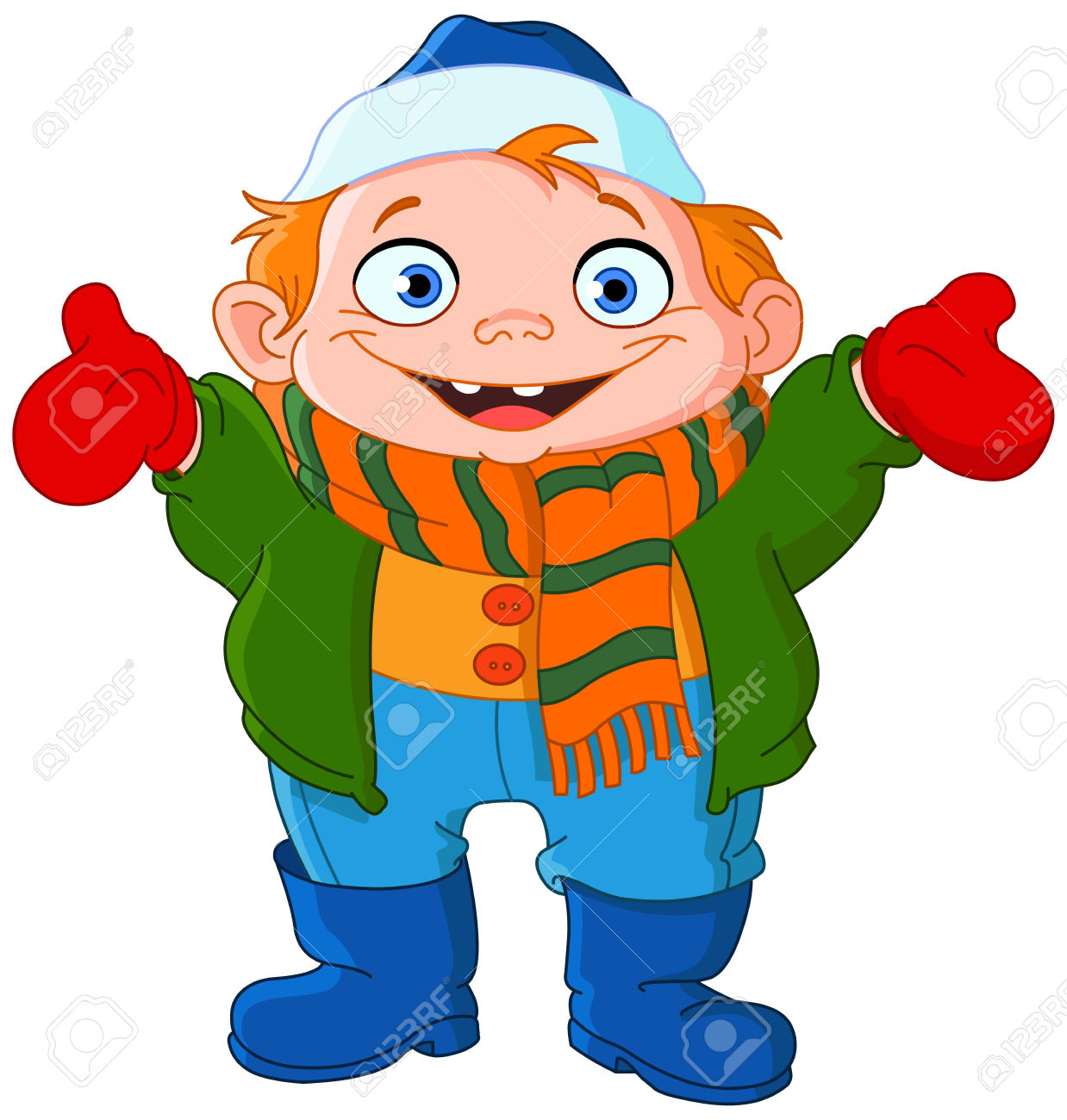 Free Clip Art Winter Coats.