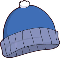 Winter clothes clipart #3