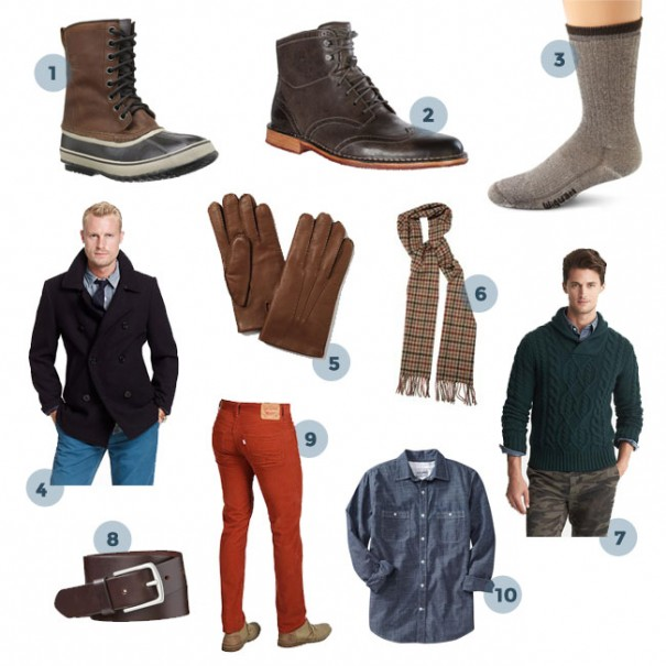 10 Winter Clothing Essentials for Men.