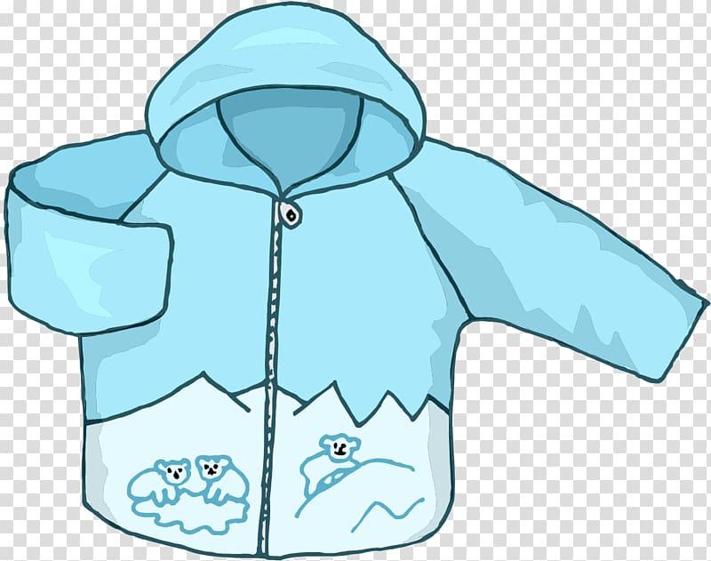 Transparent Background Winter Coat Clipart.
