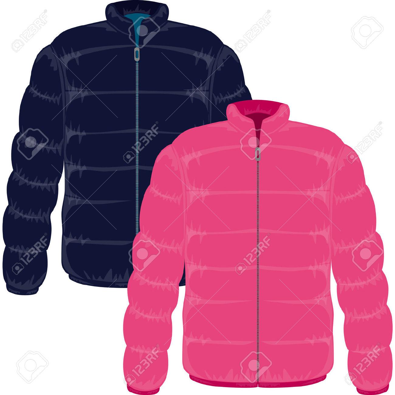 Free clip art winter coats.