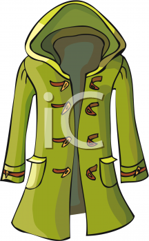 Winter Jacket Clipart.