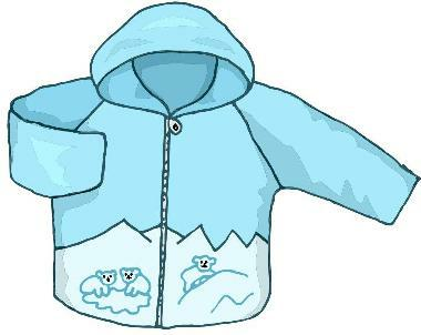 Winter Coat Drive Clipart.