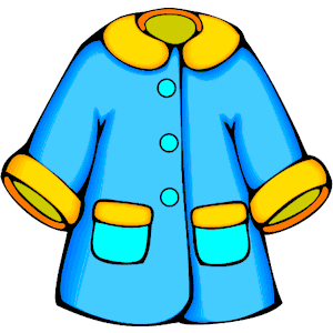 Cartoon Coat Clipart.