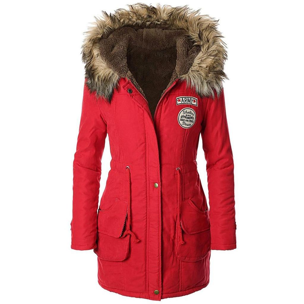 Women Winter Parka Jacket.