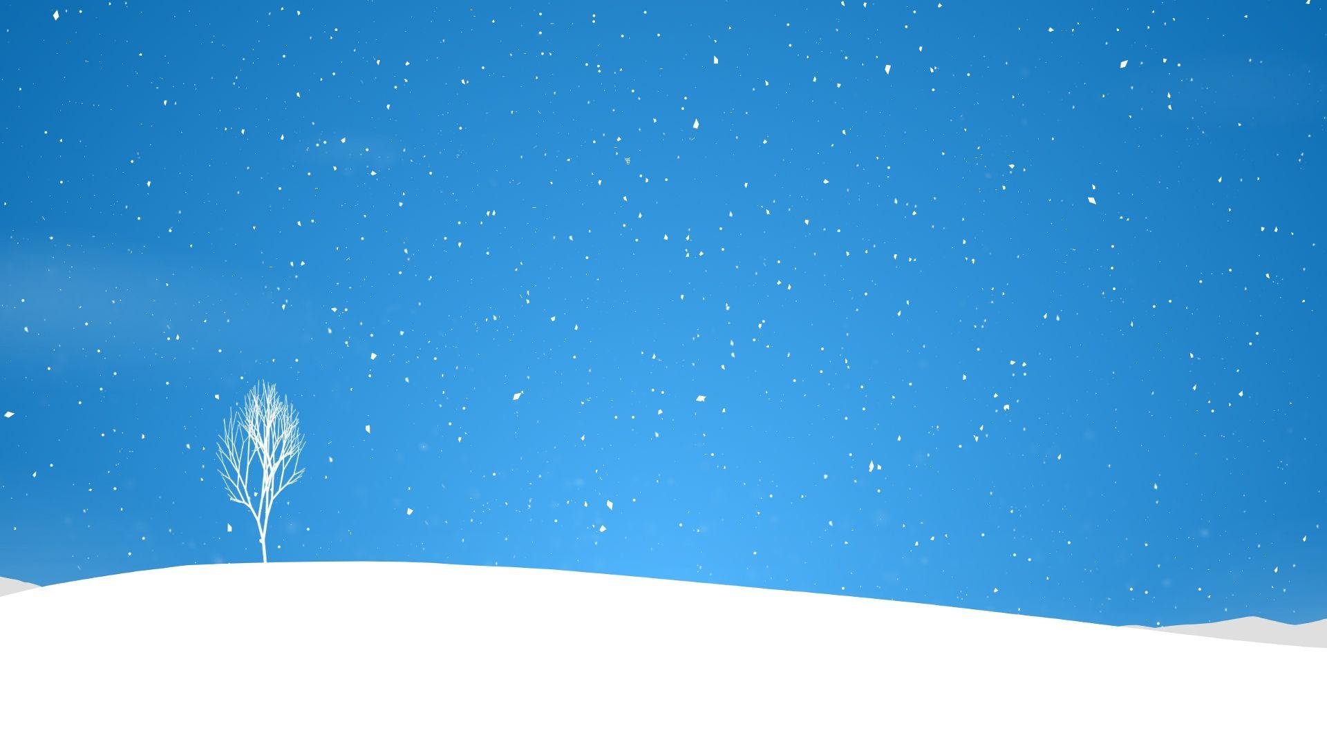 cartoon background winter.