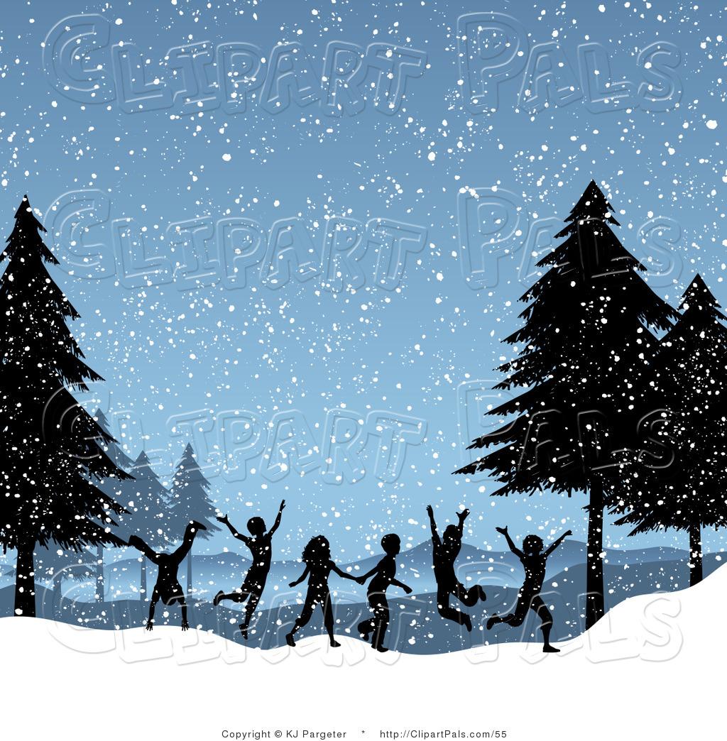 Winter Day Clip Art.