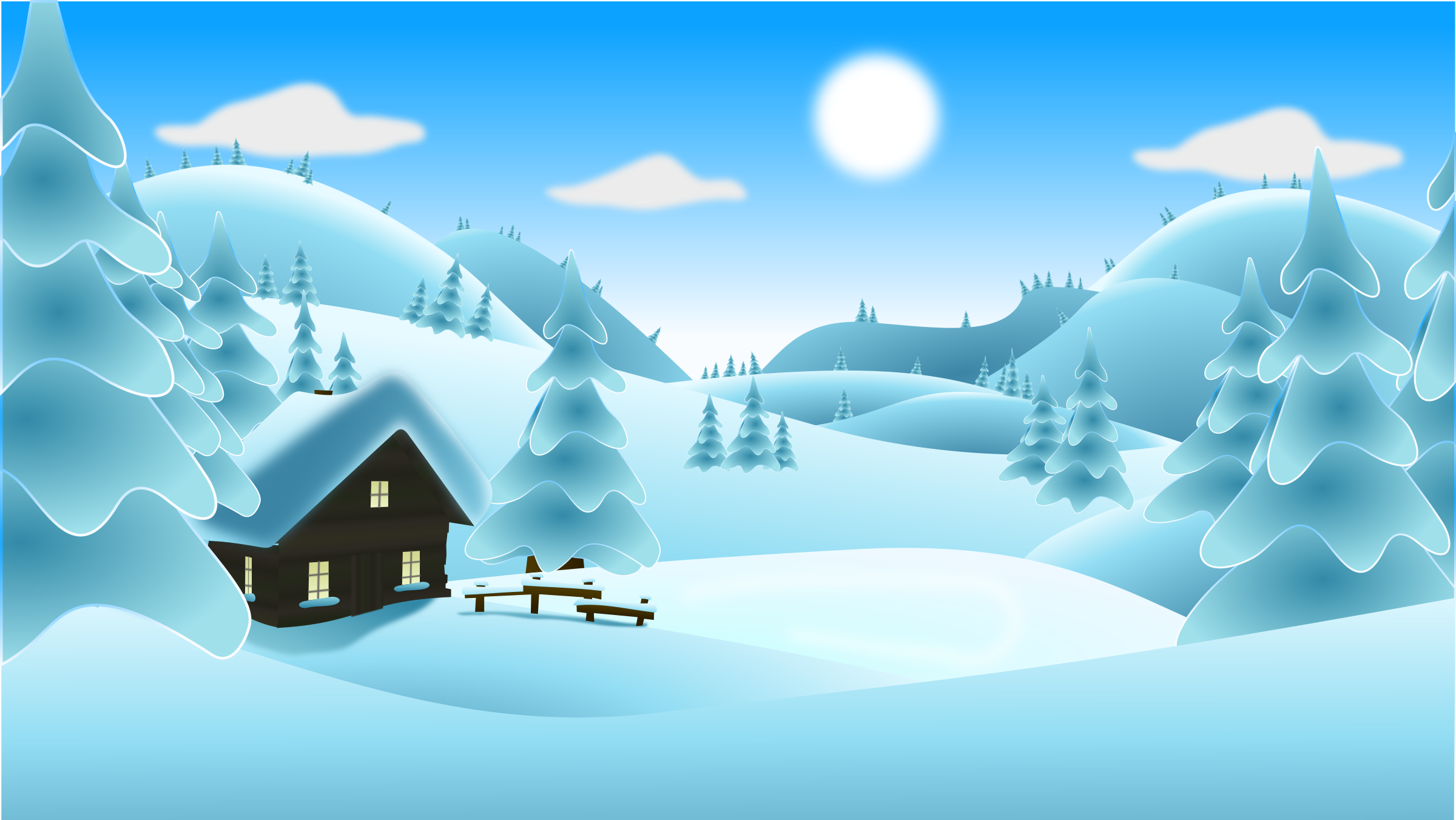 Clipart winter day, Clipart winter day Transparent FREE for.