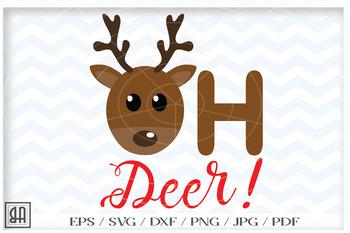 Oh deer Svg.