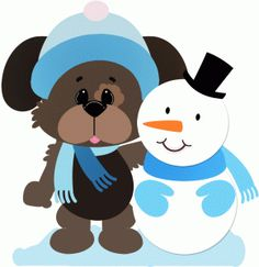 Dogs clipart winter, Dogs winter Transparent FREE for.