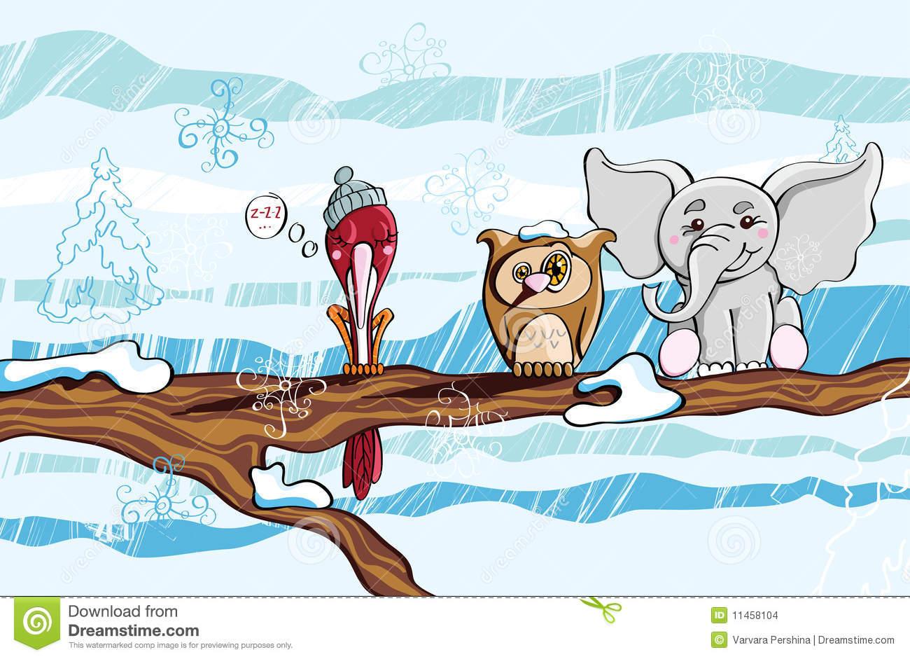Winter Dream Stock Images.