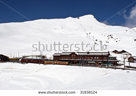 Jungfrau Railways Stock Photos, Royalty.