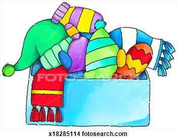 Free clipart winter clothes.