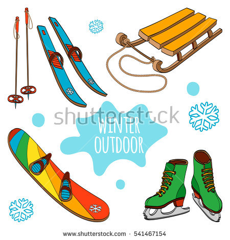 Sled Stock Vectors, Images & Vector Art.