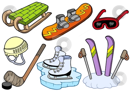 Storing Winter Sports Equipment.