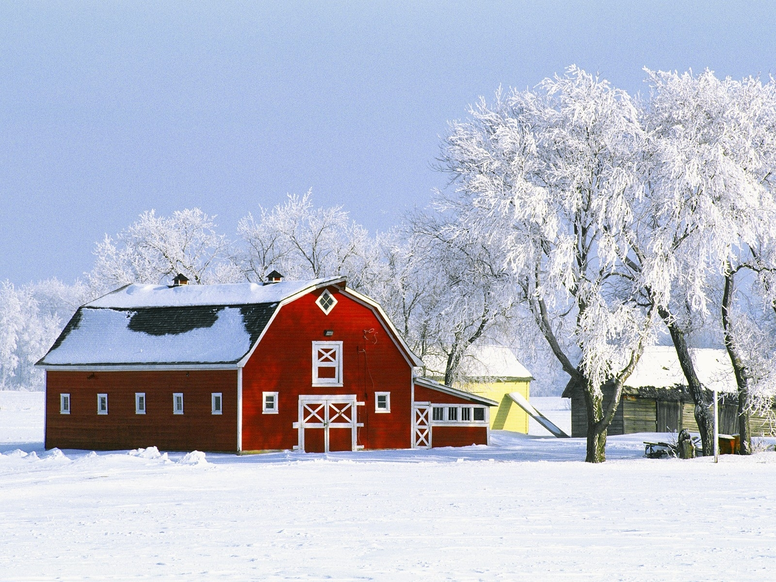 43+] Winter Farm Desktop Wallpaper on WallpaperSafari.