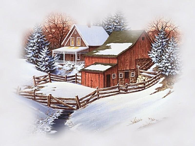 43+] Winter Farm Desktop Wallpaper on WallpaperSafari.