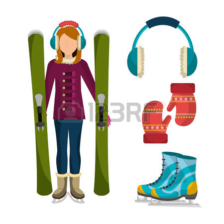36,682 Winter Fashion Stock Vector Illustration And Royalty Free.