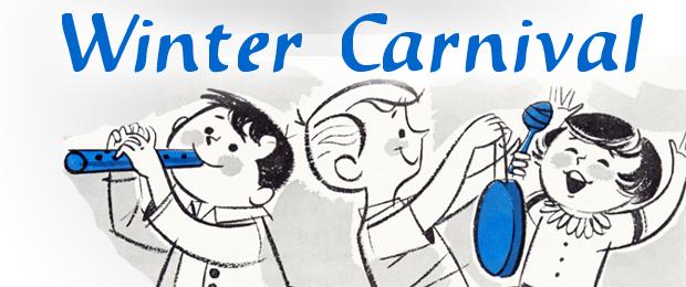 winter carnival clipart winter festival promo graphics online.