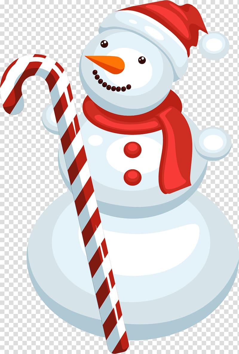 Snowman Christmas, Creative Christmas holiday transparent.