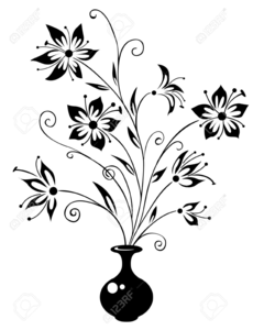 Free Winter Flower Bouquet Clipart.