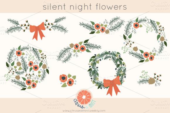 Winter Flower Clipart Clipground