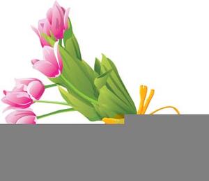 Free Winter Flower Bouquet Clipart.