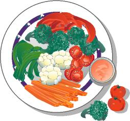 American Food Clip Art on CD.