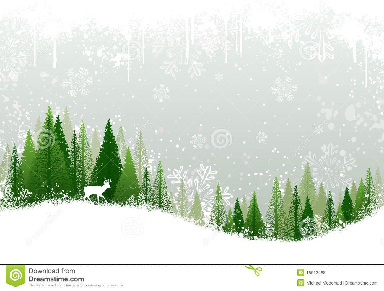 Winter Stock Illustrations.