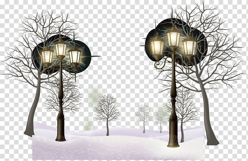 Daxue Winter Snow, snow winter forest transparent background.