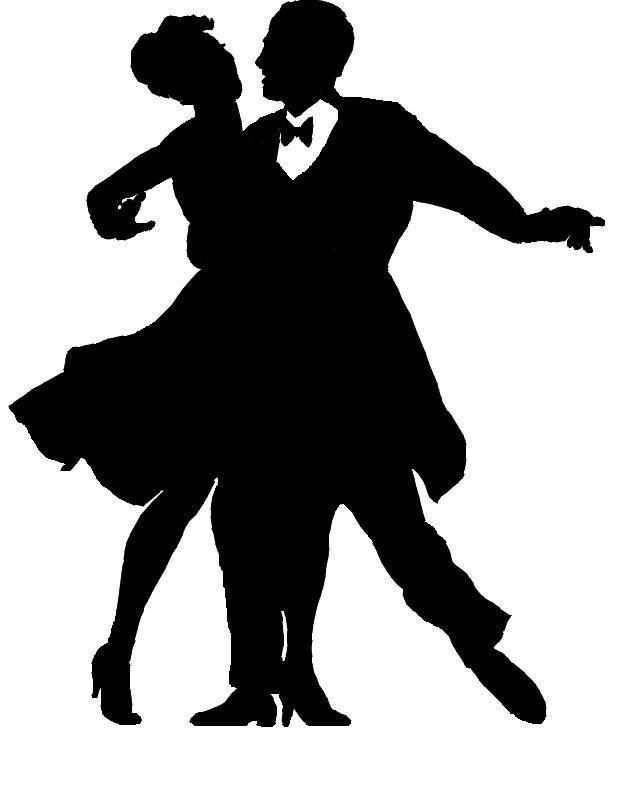 Formal Dance Silhouette.
