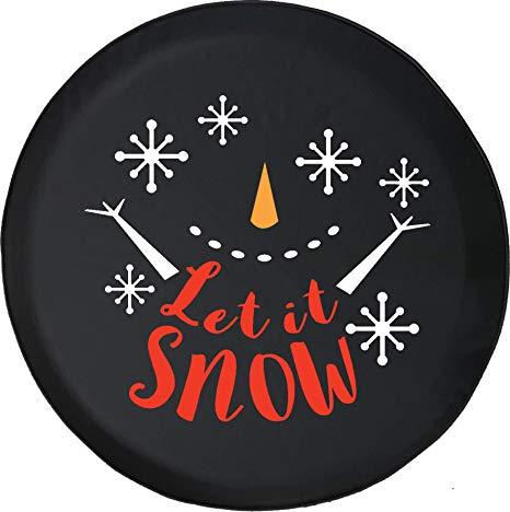 Amazon.com: 556 Gear Let It Snow Happy Snowman Snowflakes.