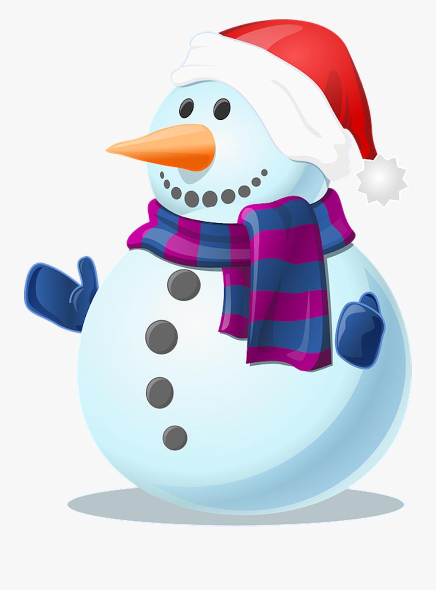 Snow, Snowman, Cold, Winter, Frozen, Gloves, Scarf.