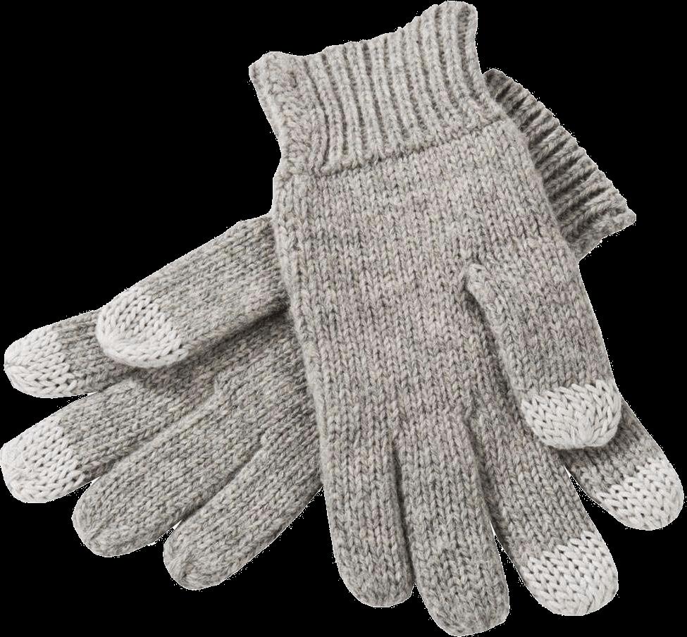 Winter Gloves transparent PNG.