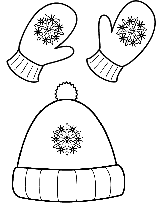 Free Winter Scarf Coloring Pages, Download Free Clip Art.