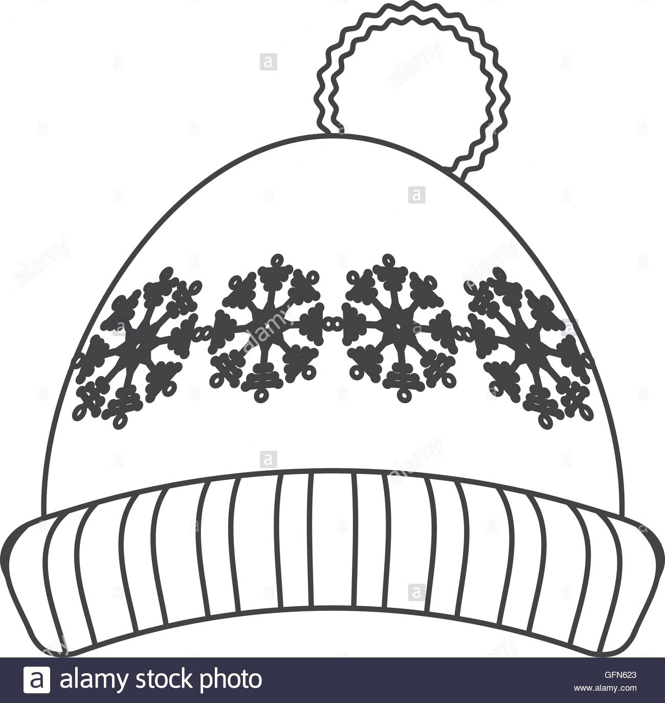 Winter Hat Clipart Black And White Baseball Onmggaf9 Clip Art 2.