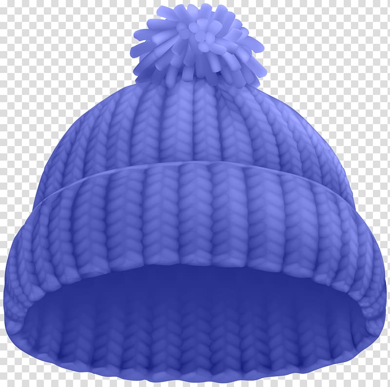 Purple knitted cap , Hat Beanie Knit cap , Blue Winter Hat.