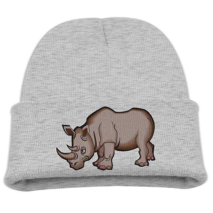 Amazon.com: Boys Knitted Hat Rhino Clip Art Winter Warm.