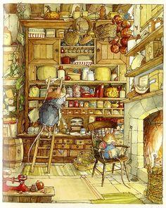 Brambly Hedge Winter Story by Jill Barklem.