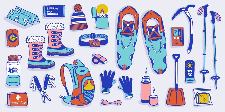 Snowshoeing Checklist: What to Bring.