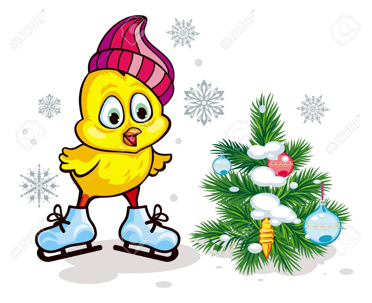 27039 Winter free clipart.