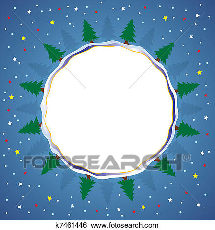 Winter holiday background Clip Art.