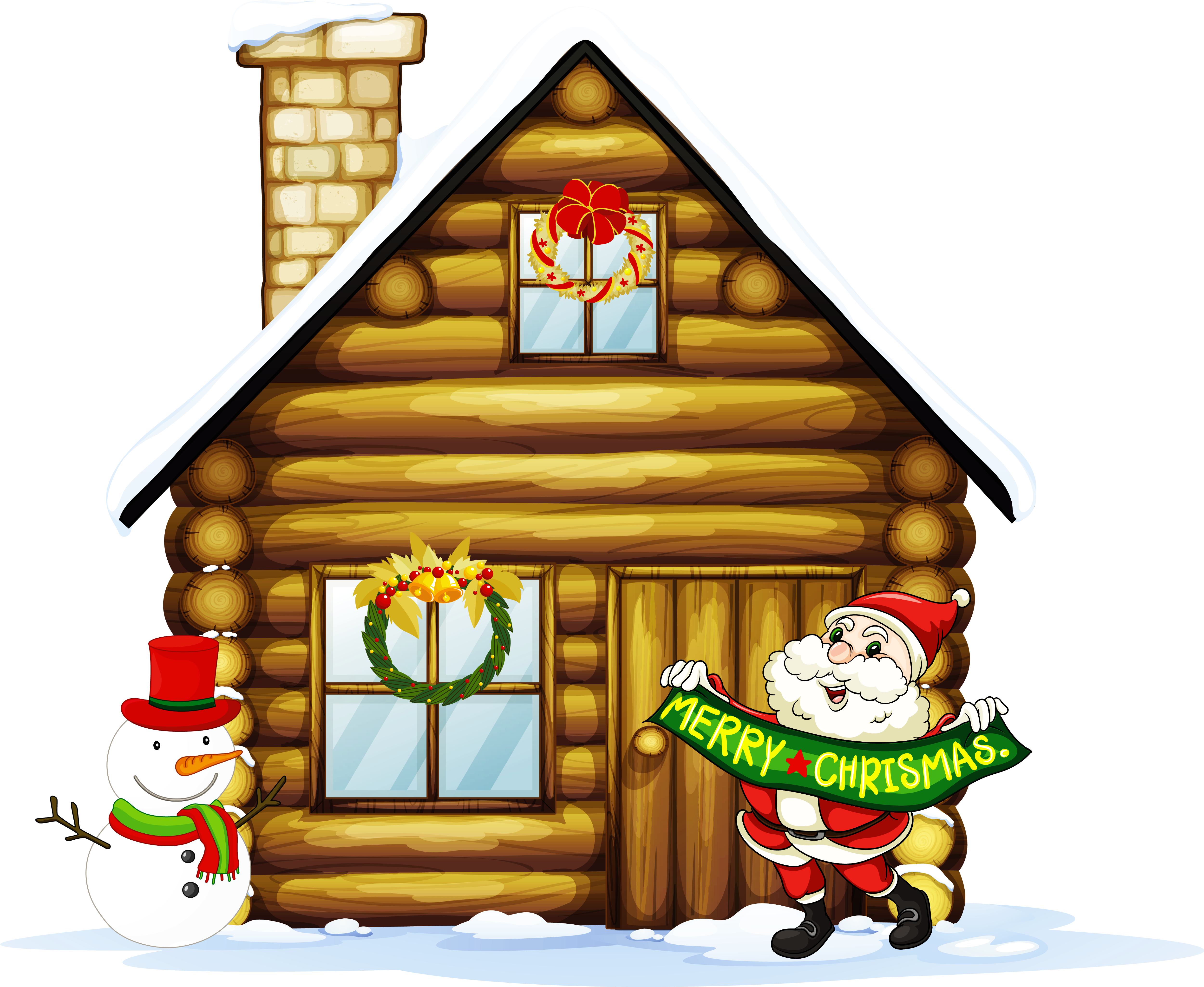 Clipart houses xmas, Clipart houses xmas Transparent FREE.