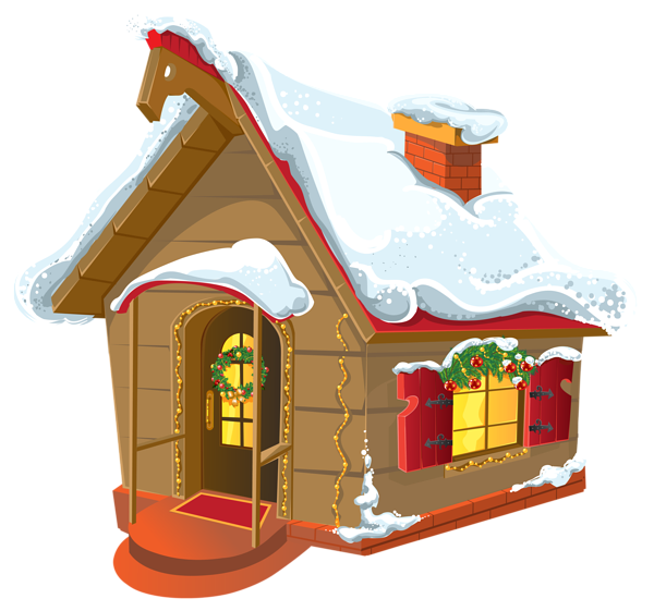 Houses clipart xmas, Houses xmas Transparent FREE for.
