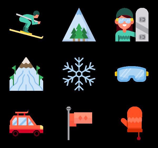Clipart winter icon, Clipart winter icon Transparent FREE.