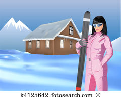 Winter idyll Clip Art and Illustration. 13 winter idyll clipart.